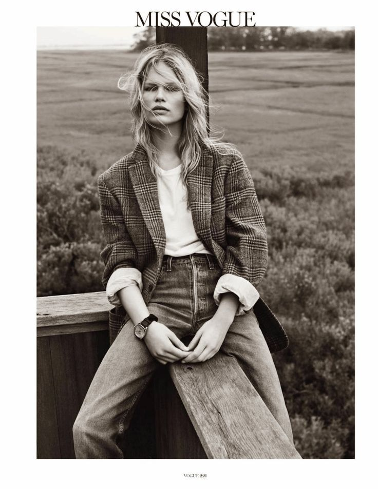 hamptons: anna ewers by josh olins for vogue paris october 2013