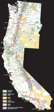 My biggest, fattest, most ridiculous dream:  To hike the Pacific Crest Trail.  All at once.