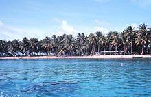 Shoreline majuro, Marshall islands