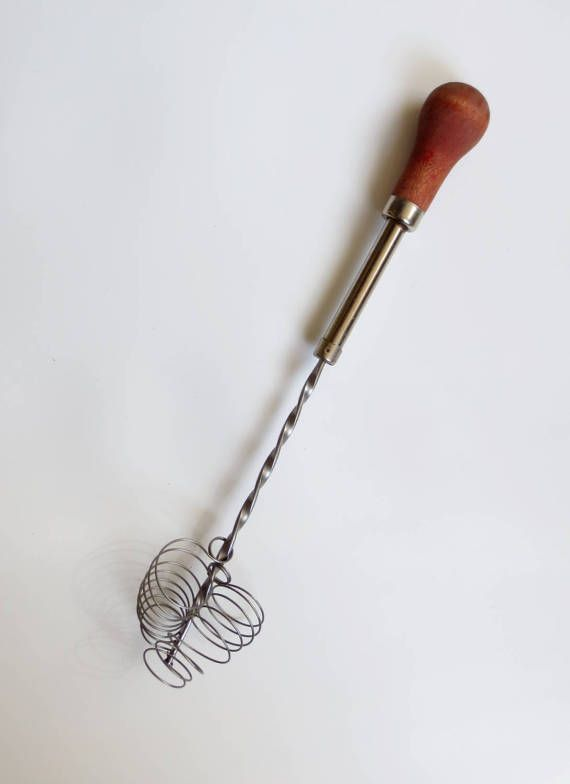 Wire Whisk Hand Beater Egg Beater Twisted Wire by SignOfTheLadybug