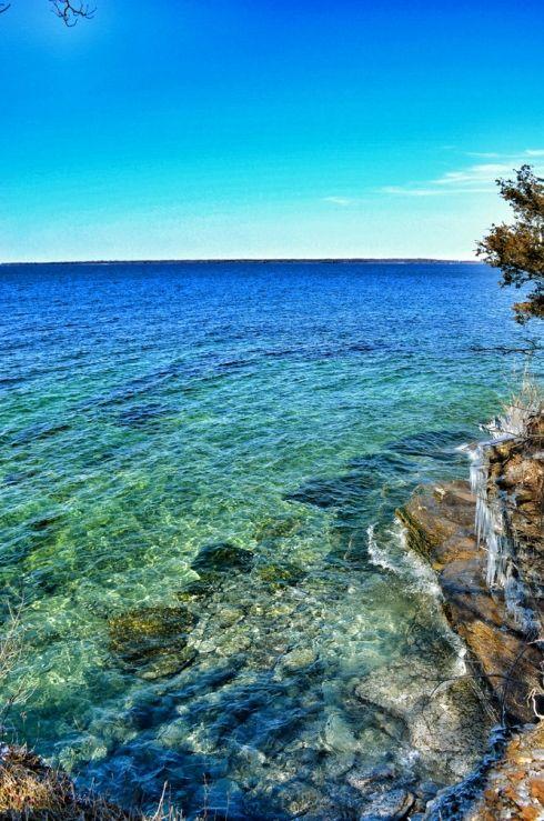 Lake Ontario in Upstate New York
