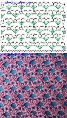 Free crochet hat patterns Diadem Lattice