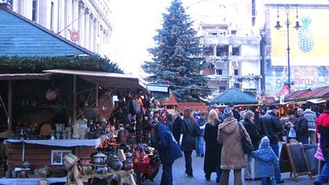Christmas Market in Budapest, Hundary