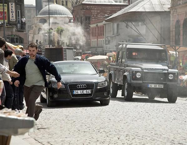 Skyfall AUDI 2007 A5 B8 [TYP 8T] #OlaRapace #Patrice #ProductPlacement