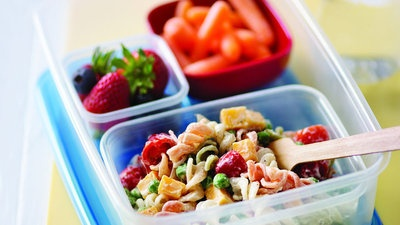 Rice pasta salad | Main Dishes | Fairlady