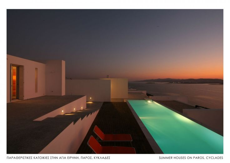 Holiday Villa in Paros, Greece - Seafront villas complex with studios in Paros