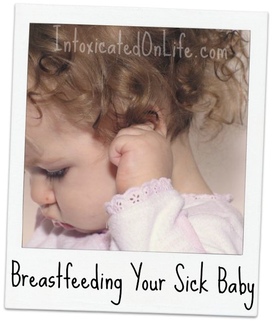 Breastfeeding Your Sick Baby or Child