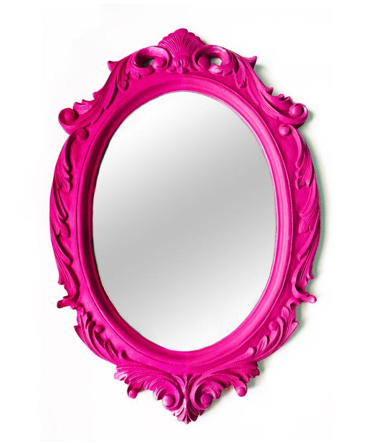 Regalos que encantan: Espejo Blanca Nieves Fucsia Homesick Design en Dekosas.
