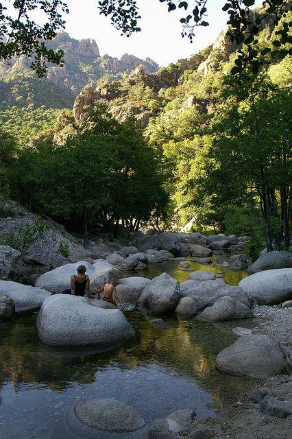 Gorges de Spelunca in Corsica, France (by Crack-Shot). - See more at: http://visitheworld.tumblr.com/post/60253912094/gorges-de-spelunca-in-corsica-france-by