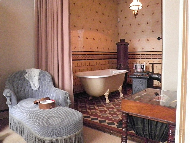 Bathroom Simon van Gijn, the Netherlands, Dordrecht. Dating from 1883.