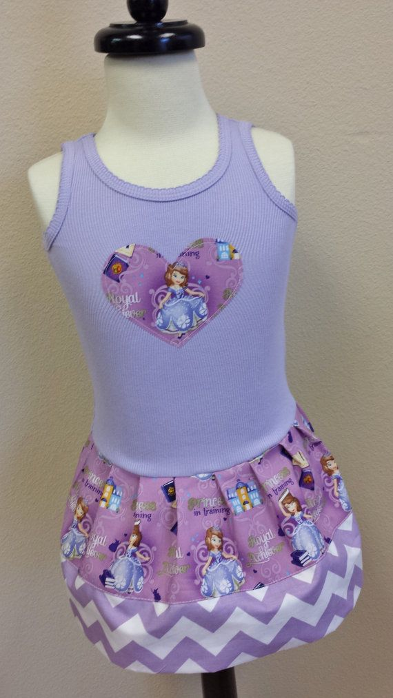 Sofia the First, Dress. Princess Sofia Dress. on Etsy, $24.00