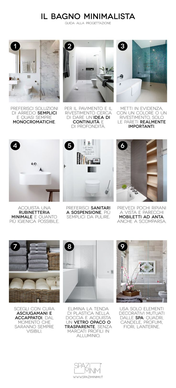 17 Best images about Bagni Minimalisti on Pinterest