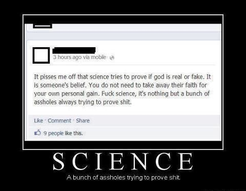 In science nothing can be proven true?