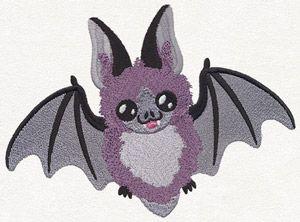 Happy Bat design (UT11820) from UrbanThreads.com