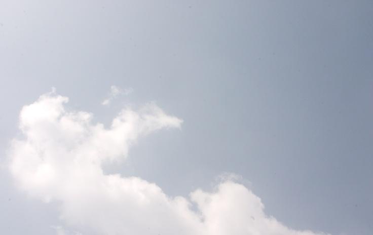 2012년 9월 1일 서울 하늘...