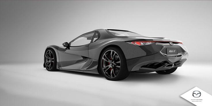 2018 Mazda RX9 Mid-Engine Design Concept