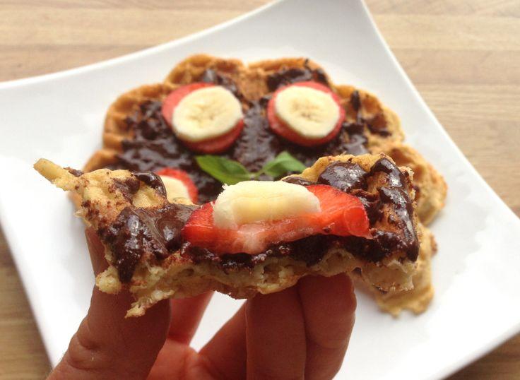 Næringsrike frukostvafler