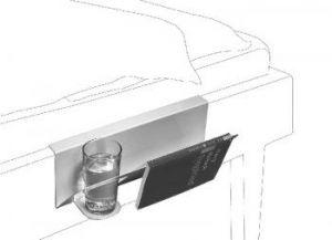 Hanno Nachttisch für die Bettkante zum Einhängen-kramsen