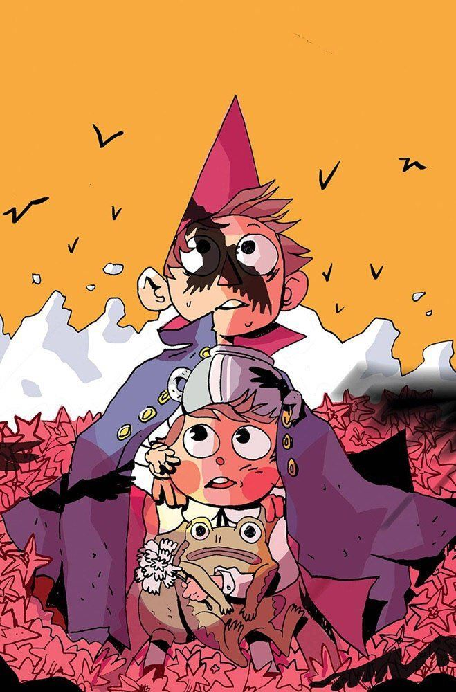 Almost forgot to post about the Subscription Cover i did for Over The Garden Wall # 19 ! Heeho-