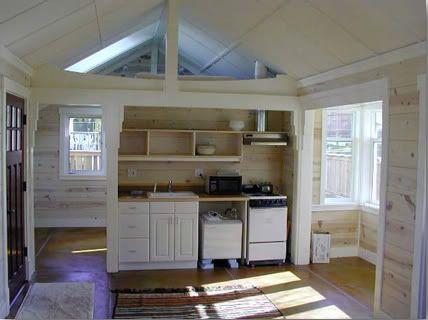cute tiny house interior