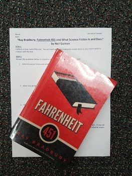 Introduction To Fahrenheit   Reflections On Neil Gaiman Essay  Introduction To Fahrenheit   Reflections On Neil Gaiman Essay Old English Essay also Essay Proposal Example  Informative Synthesis Essay