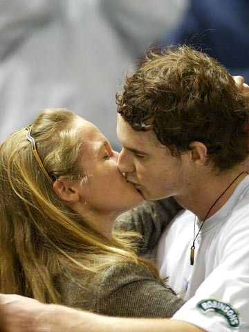 Andy Murray's Girlfriend Kim Sears At The Court