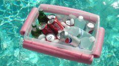 macarrões sobrando? que tal fazer um balde flutuante para piscina?