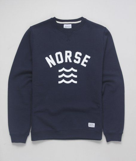 norse, m i n i m a l, college font, waves , colour scheme