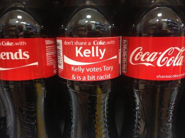 Kelly votes Tory.