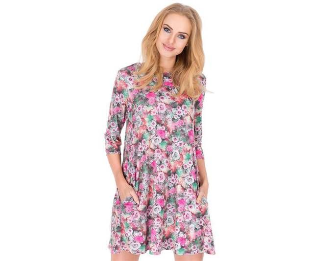 Kleid elegant Mini-Kleid Blumen Muster Top Gr. 36 38 40 S M L, M194 3 S/36 Jetzt bestellen unter: https://mode.ladendirekt.de/damen/bekleidung/kleider/sonstige-kleider/?uid=f3b8f3e3-f262-5d01-9758-40354a52a2cc&utm_source=pinterest&utm_medium=pin&utm_campaign=boards #sonstigekleider #kleider #bekleidung