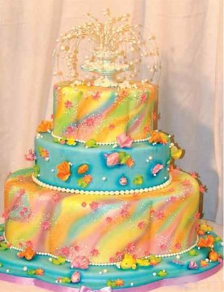 1000+ images about Airbrushed cakes on Pinterest Wilton ...