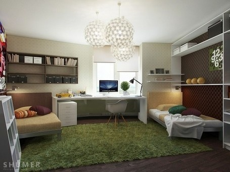 Teenage Study Room Designs | 2012 Interior Design, Living Room Ideas, Home Design | Scoop.it