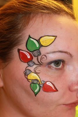 christmas face painting ideas | Christmas Designs (i was going to post in other threads, but too many ...