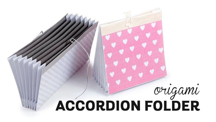 Origami Accordion Folder ♥︎ Document Organizer ♥︎ Paper Kawaii