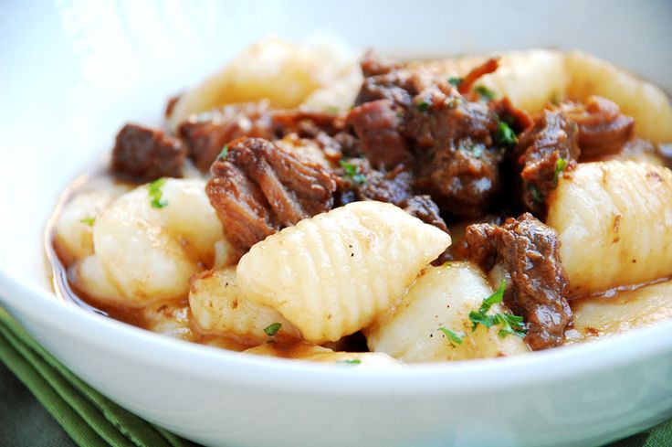 Braised Beef Short Ribs with Adobo & Gnocchi