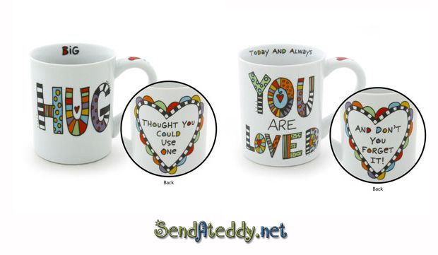 Send A Teddy: Hug Mug :)