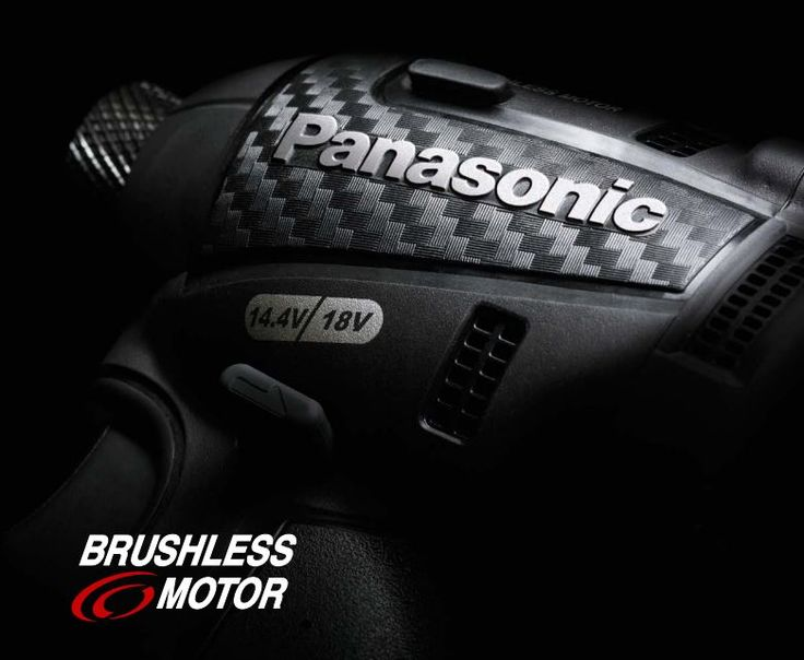 Panasonic power tools - cordless impact driver carbon black edition