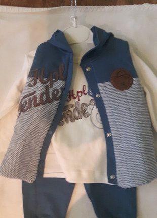 Kup mój przedmiot na #vintedpl http://www.vinted.pl/odziez-dziecieca/dla-niemowlakow-chlopiec/16816236-dres-niemowlecy-3-czesciowy