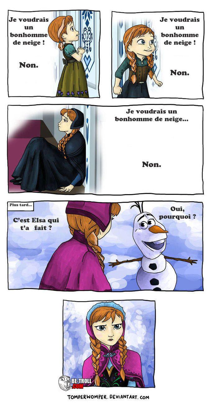 C'est Elsa qui t'a fait ? - Be-troll - vidéos humour, actualité insolite