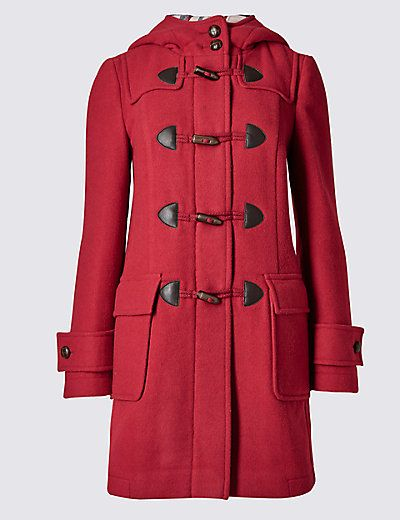Duffle Coat with Wool | M&S