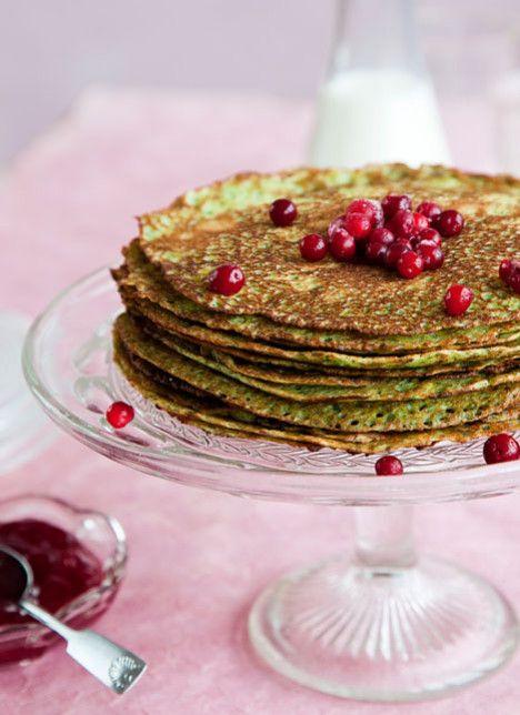 Spinach pancakes - Kodin Kuvalehti