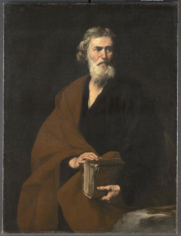 Saint Matthew, Jusepe de Ribera Spanish (1591–1652) 17th century 1632 Oil on canvas