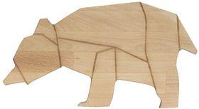 Cutting Board & breakfast tray Bear by Studio Lilesadi on DaWanda.com