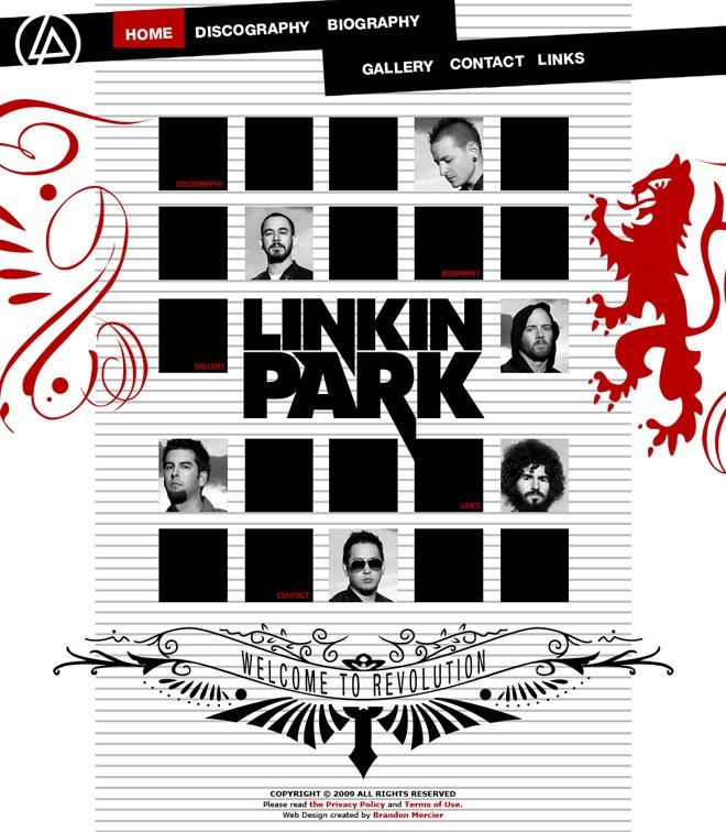 LinkinPark Linkin park, Chester bennington, Bennington