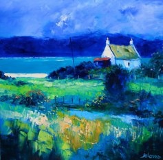 A Gigha Landscape John Lowrie Morrison