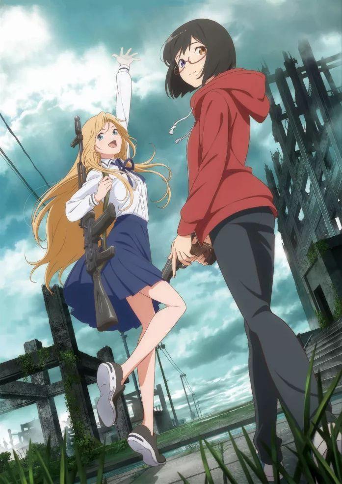Otherside Picnic Gets A Ghostly New Trailer Anime Otaku Art Netflix Anime