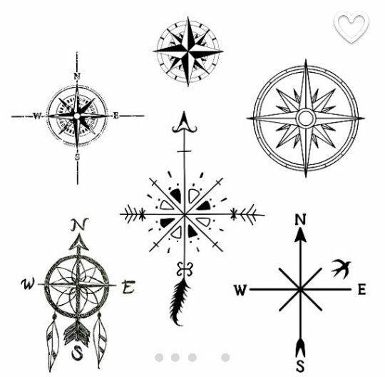 Kompass bleistiftzeichnung  Die besten 25+ Kompass tattoos Ideen auf Pinterest | Kompass ...