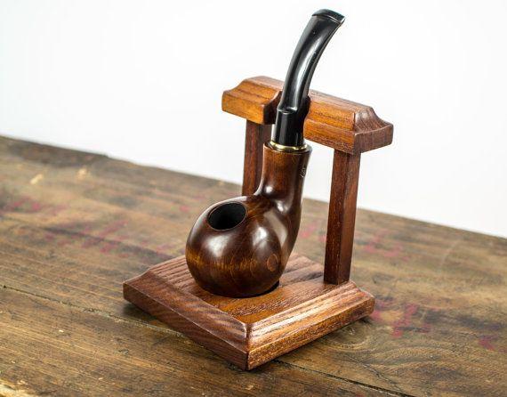 .Madera tubo bastidor mantenga titular del Stand para tabaco fumar pipas tubo de soporte de madera,