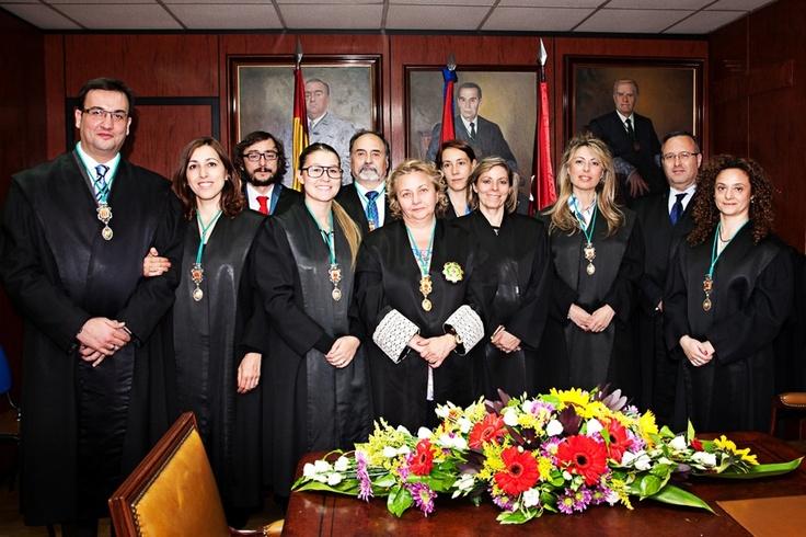 Vicepresidente y Tesorero del Excmo. Colegio de Graduados Sociales de Madrid. 2013