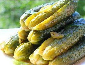 Огурчики с необыкновенным вкусом — сначала сладковатый, потом островато-соленый, оторваться невозможно, аппетитно хрустящие, непохожие ни на какие другие!